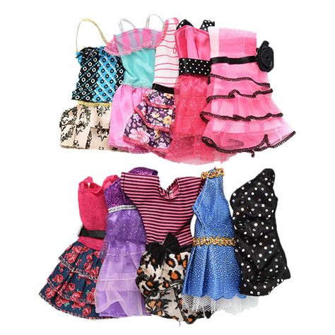 How To Sell Handmade Clothes - 10pcs fashion handmade dresses clothes for doll