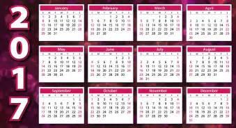 Kalender 2018 Med Veckor Gratis Illustration Kalender 2017 Dagordning Schema