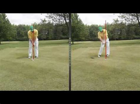 driver swing vs iron swing driver swing vs iron swing youtube