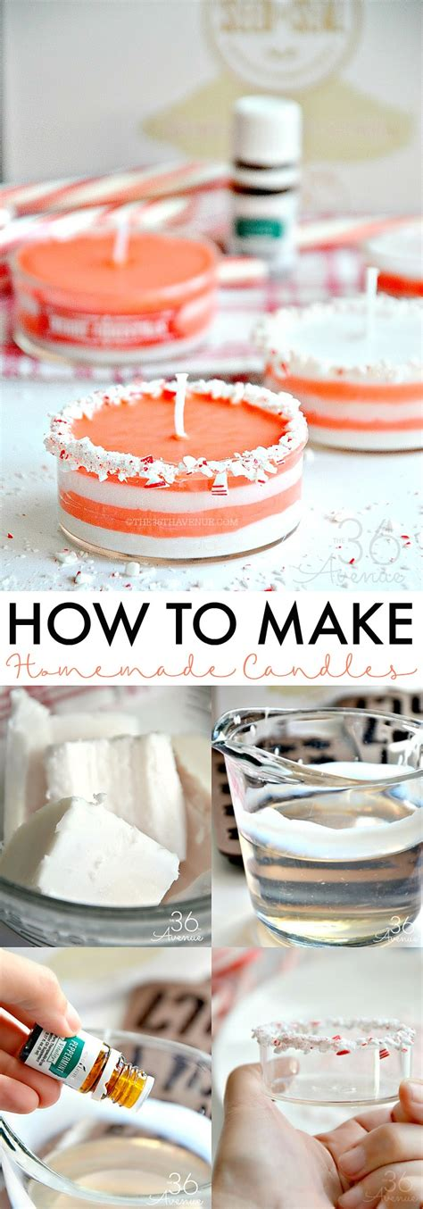 How To Make Handmade Candles - how to make candles the 36th avenue