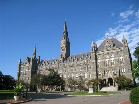 How Many Years Is Georgetown S Mba by This Day In History 1 23 The Founding Of Georgetown