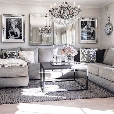 Gray Room Decor Best 25 Silver Living Room Ideas On Pinterest