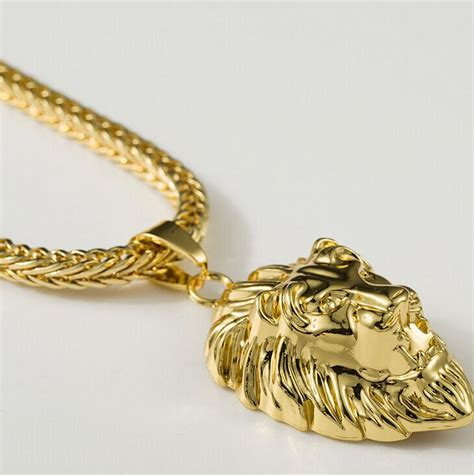 2015 hip hop 18k gold plated pendants high