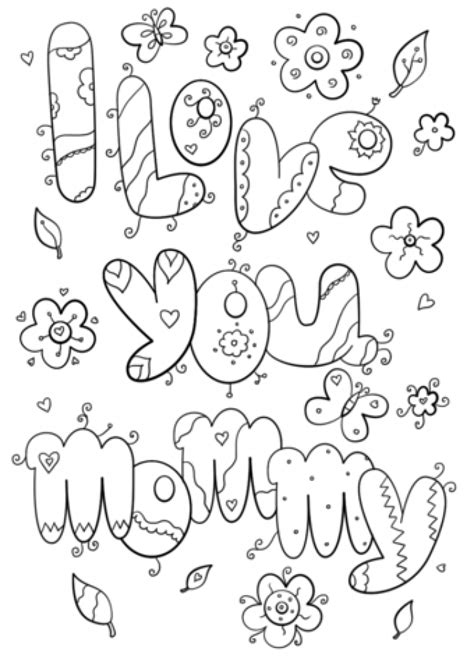 61 free coloring pages i love you free printable i