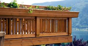 Railing On Building Balcony Stainless Steel Wood Or