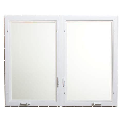 Home Depot Awning Windows by Tafco Windows 60 In X 48 In Vinyl Casement Window With