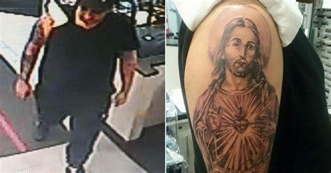 tattoo thief read online thief spends six hours getting jesus tattoo then runs