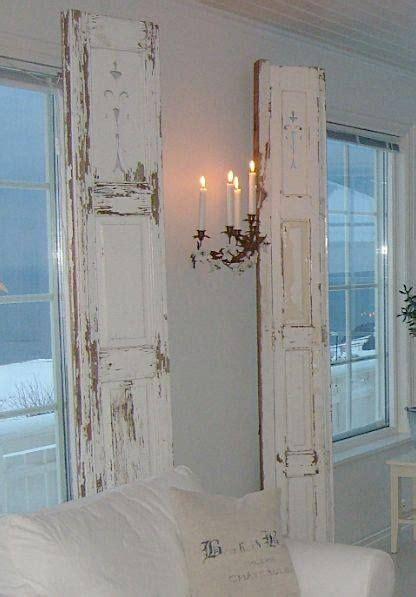 Decorating Ideas Using Shutters Shutters Doors Decorating Ideas