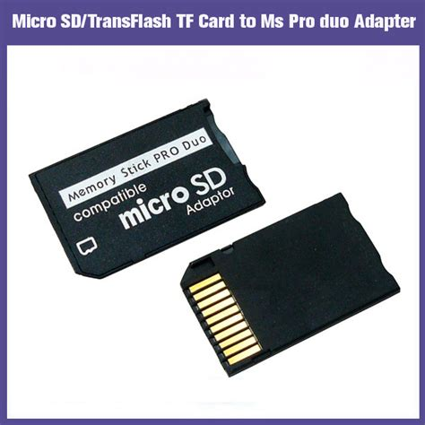 Memory Card Psp 16gb 4gb 8gb 16gb 32gb micro sd sdhc tf to memory stick ms pro duo adapter converter card reader for