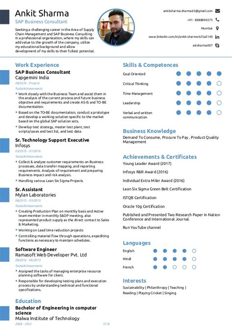 One Page Resume by One Page Resume