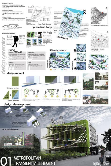 layout presentation board presentation board 01 by paneles modelados