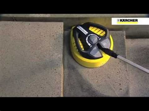 Karcher T400 Patio Cleaner by Briggs Stratton Rotating Surface Cleaner 6178 Demo