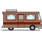 Cartoon Camper Van Clip Art 24