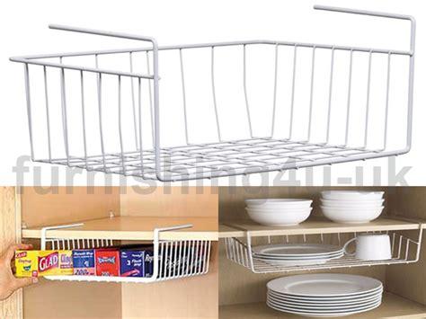 kitchen table with storage underneath new white kitchen shelf storage basket rack holder