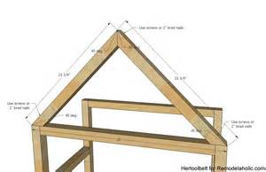 how to build a house remodelaholic diy house frame bookshelf plans