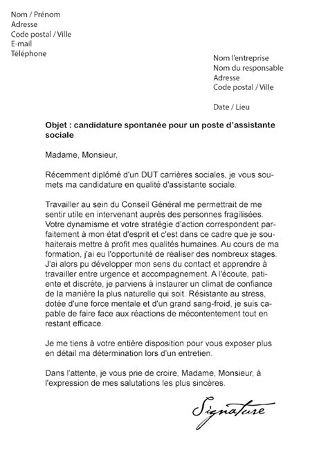 Lettre De Motivation Stage Psychologie Lettre De Motivation Conseil G 233 N 233 Ral Mod 232 Le De Lettre
