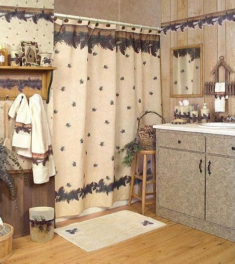 Lodge Bathroom Accessories Pine Cone Pinecone Cabin Lodge Decor Bathroom Accessories Product Gallery Wallpaper