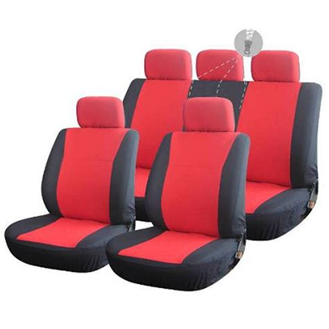 solid bench seat covers amoi solid bench cloth seat covers for suv auto full set 5