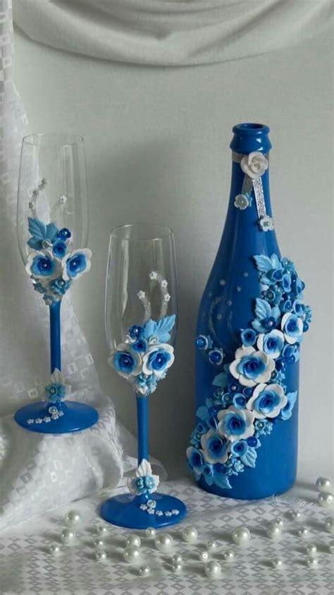 botellas de sidra decoradas para el novio imagenes con diamantina botellas decoradas diy manualidades foro bodas net
