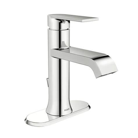 moen single lever bathroom faucet moen genta single hole single handle bathroom faucet in