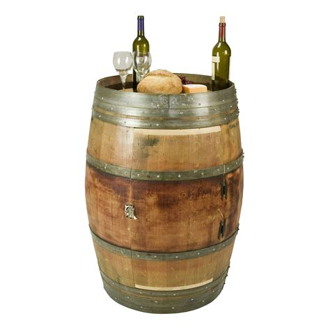 Wine Barrel by Whole Wine Barrel Cabinet With Shelf And A Lazy Susan