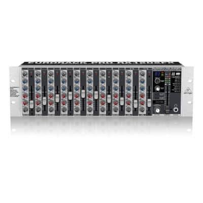 Mixer Audio Behringer 12 Chanel behringer rx1202fx 12 channel rackmount mixer behringer