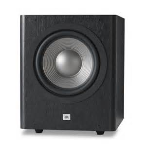 jbl home subwoofer studio 250p powerful 200 watt 10 inch powered subwoofer