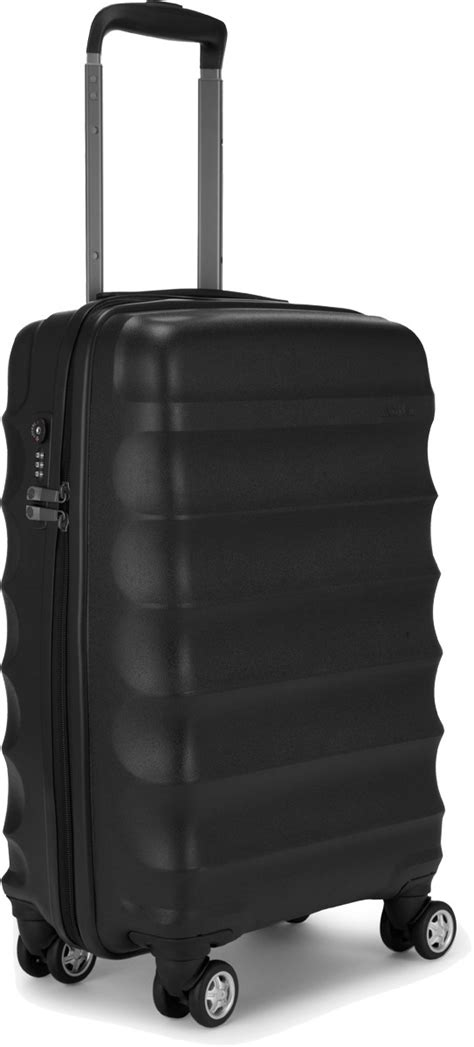 antler cabin luggage antler juno 56cm cabin 4 wheel suitcase black