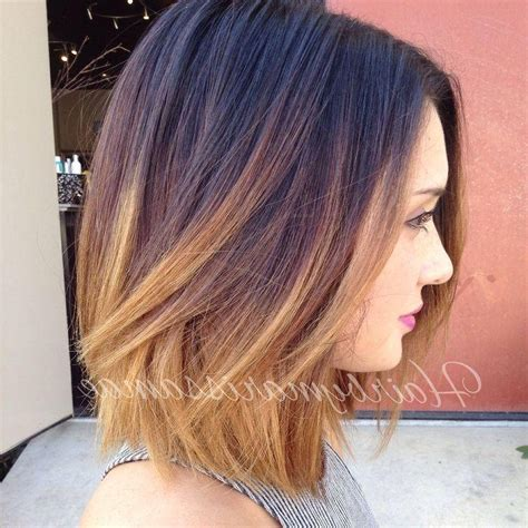 Colored Bob Hairstyles by 2018 Popular Colored Bob Hairstyles
