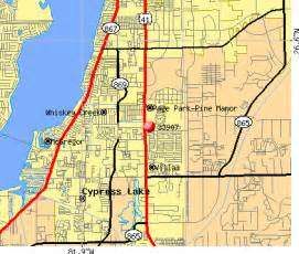 fort myers map with zip codes images