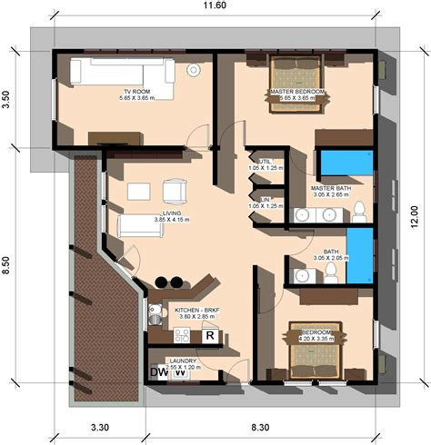 60sqm to sqft 80 square meters in square feet house design and plans