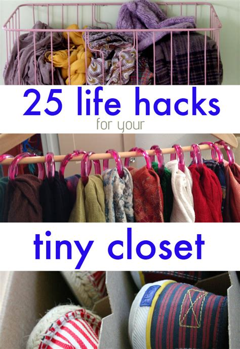 how to save space in your closet 25 brilliant lifehacks for your tiny closet
