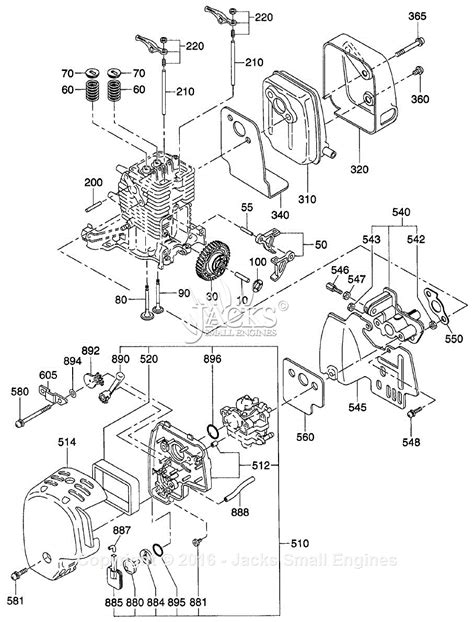 Robin Subaru Eh025 Parts Diagram For Intake Exhaust Parts