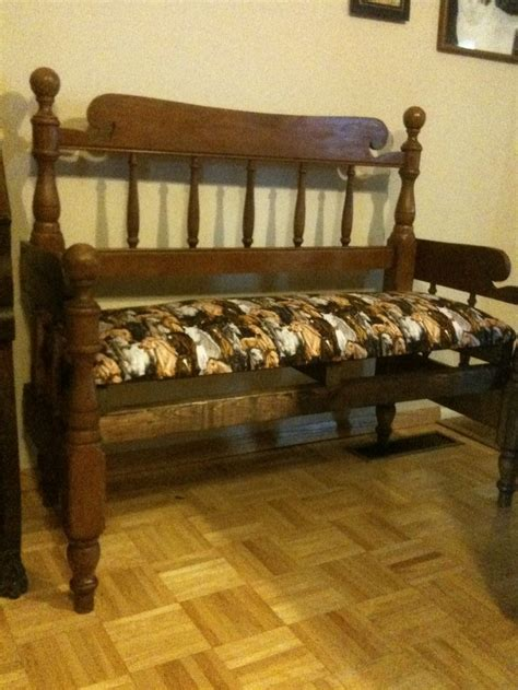 bench made from bed 122 best images about bed frames to benches on pinterest