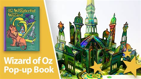 the up books the wonderful wizard of oz pop up book by robert sabuda
