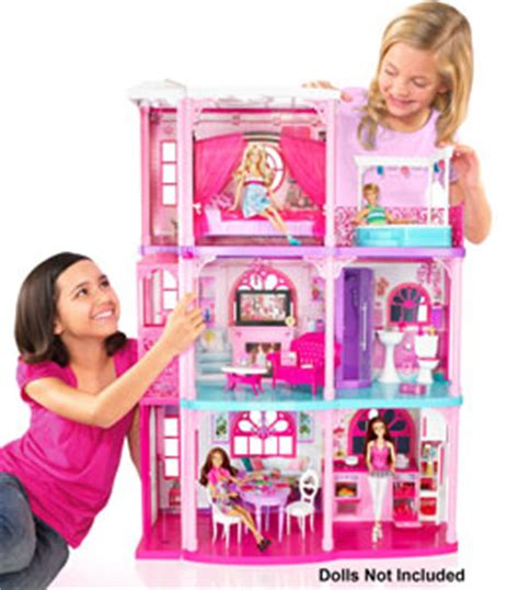 amazon barbie dream house barbie 3 storey dreamhouse mattel amazon co uk toys games