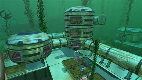 Blueprints For My House by Player Made Subnautica Base Is Extremely Impressive