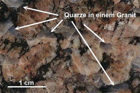 granit bestandteile gesteinsbestimmung quarz und feldspat erkennen