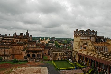 Ram Mahal when it rained in orchha beyondlust