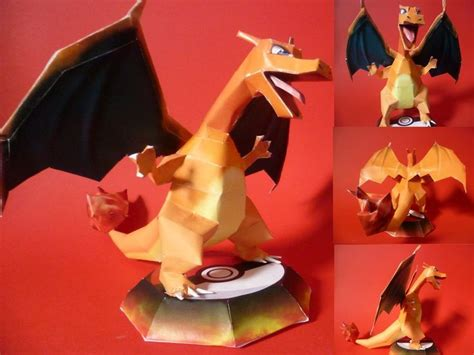 How To Make A Paper Charizard - easy papercraft charizard papercraft by