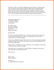 Business Letter Block Styles 13 Full Block Styles Letter Bussines Proposal 2017