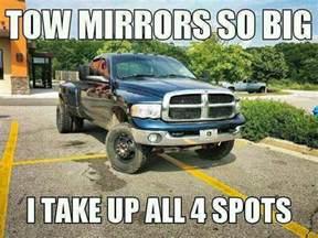 tow mirrors cummins diesel joke lolol quot ghost