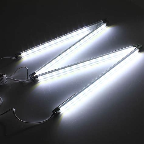 kitchen under cabinet led lighting 240v 4pcs kitchen under cabinet counter energy saving led hard