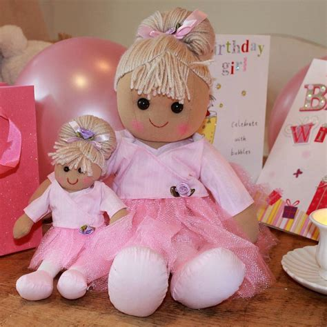 rag doll and ballerina rag dolls by ella