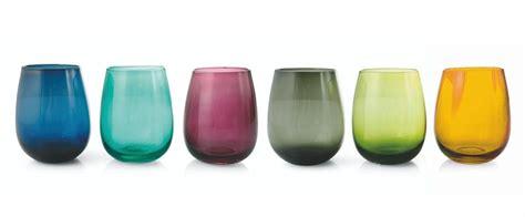 bormioli bicchieri colorati bicchieri colorati stile e allegria in tavola modelli e