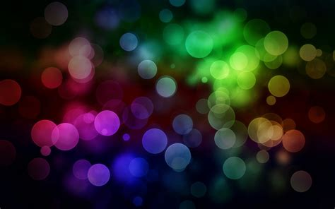 design effect bokeh wallpaper