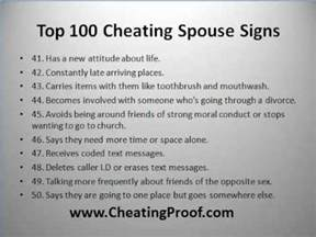 How Can I Find Out Who My Husband Is Texting 100 cheating spouse signs youtube