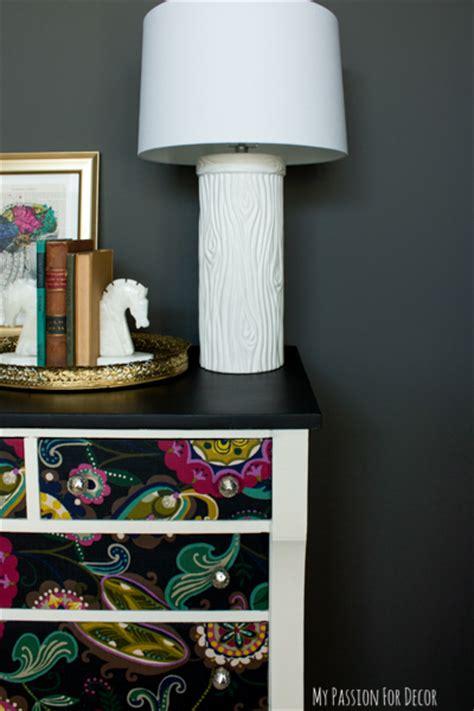 Hometalk   Dresser Makeover Using Fabric And Mod Podge