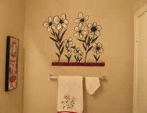 ideas for painting bathroom walls creative painting bathroom wall home interiors