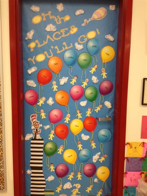 oh the places you ll go door decoration for classroom